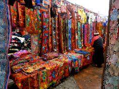 Otavalo Market (Otavalo - Ecuador) http://www.southamericaperutours.com/
