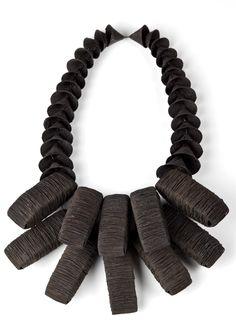 Heejin Hwang: neck piece of steel wire
