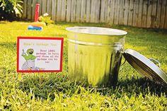 Colorful DIY Sesame Street Birthday Party