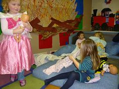 Today at preschool: Hospital Role Play