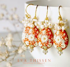 The set of eight beautiful earrings are reserved for the special bride-to-be. I hope I have captured the sweetness and the excitement of the coming big day.