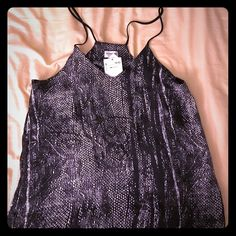 H&M reptile print top Brand new with tags. Silky fabric. H&M Tops Tank Tops