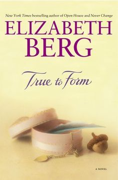 True To Form by Elizabeth Berg,  A very good book by one of my favorite authors. Elizabeth Berg has a true gift for storytelling. Her stories are real, and her words make the reader stop, think, reflect and appreciate the simple things. Set in 1961, told from the perspective of a thirteen year old girl, it's just a beautiful story of growing up - friends, family, loss, appreciation