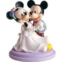 Tortenfigur Brautpaar Mickey tanzend