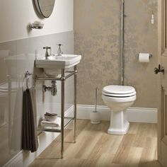 Victorian Cloakroom Basin With Stand | bathstore