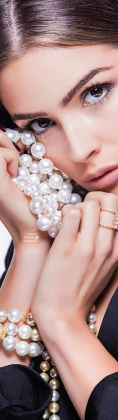Olivia Culpo for Imperial Pearls Olivia Culpo, Pin Logo, Diamond Jewelry, Fashion Accessories, Things To Come, Wedding Rings, Glamour, Engagement Rings, Classy
