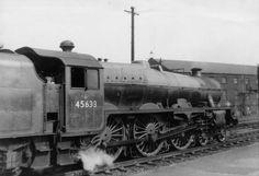 45633 Aden at Wigan North Western in May 1958 (photo by Roger Smith) copyright Simon Robinson North Western, Steam Railway, British Rail, Steamers, Steam Engine, Steam Locomotive, Diesel Engine, Westerns, World