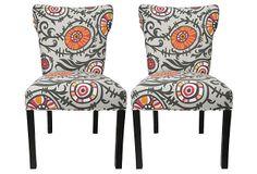 Gray Callum Chairs, Pair on OneKingsLane.com