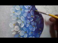 Markinhu Oliveira Pinturas - HORTÊNCIAS - 2ª PARTE - YouTube