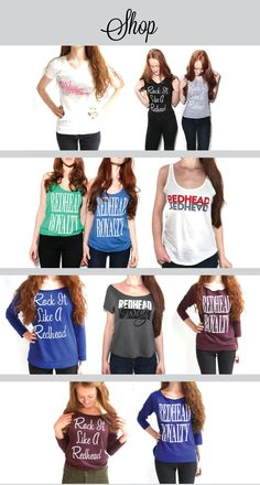 Redhead Apparel For Your Red Life – How to be a Redhead