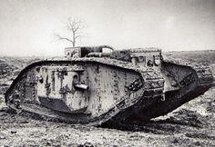 British tank Mark IV Male