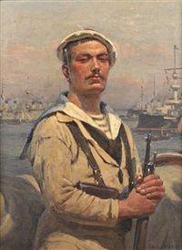 Le Fusilier marin by Paul Jobert