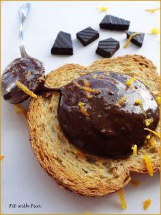 Orange & Chocolate Protein Peanut Butter - Lowfat, Lowcarb, Vegan GlutenFree SugarFree Healthy