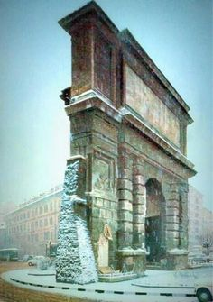 Porta Romana Mansions, House Styles, Bella, Building, Italia, Bows, Monuments, Puertas, Mansion Houses