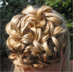 Blonde Prom Hair!