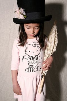 9f3404a91 Misha Lulu - Circus HK - Hello Kitty Velour Umbrella Dress (on clearance)