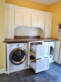 70 Basket Laundry Room Ideas 77