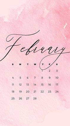 February Wallpaper, Calendar Wallpaper, Birthday Presents For Her, Birthday Cards For Men, Pink Wallpaper Iphone, Wallpaper For Your Phone, February Calendar, February 19, Love You Best Friend