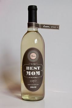 Mother's Day Freebie Wine Label