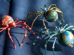 Invasion of the Polymer clay spiders | Polymer clay bodies a… | Flickr