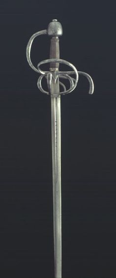 Espada ropera de lazo del maestro Juan de la Orta - España (Toledo) - Siglo XVI.