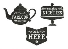 Designspiration — All sizes | A Bit of Crumpet signage | Flickr - Photo Sharing!
