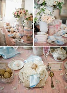 Sweet Marie Antoinette little girls party theme