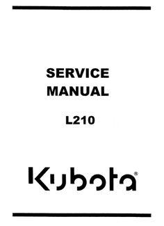 Kubota Tractor B9200 HST Operators Owners Manual