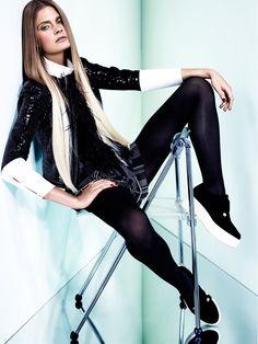 W Korea December 2012 Editorial - Constance Jablonski White Fashion, Love Fashion, Fashion News, Fashion Models, Fashion Beauty, Fashion Trends, Woman Fashion, Beauty Editorial, Editorial Fashion