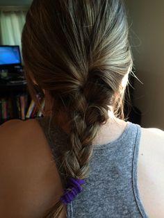 He braided my hair. #bestboyfriend #lovehim #hedabest