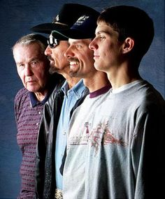 Lee, Richard, Kyle and Adam Petty: Lee (l.) started NASCAR's royal family, but Richard became the 'King' and Kyle took over the mantle. The Petty legacy is not without tragedy, however; 4th generation driver Adam died on May 12, 2000 in a practice lap for the Busch Series at New Hampshire Motor Speedway.