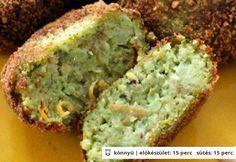 Brokkolifasírt zabpehellyel Vegetarian Recepies, Healthy Recepies, Baby Food Recipes, Cooking Recipes, Good Food, Yummy Food, Greens Recipe, Vegas, Winter Food