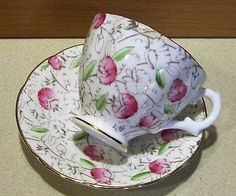 Vintage tea cup saucer royal-stuart spencer #stevenson  bone #china #england,  View more on the LINK: 	http://www.zeppy.io/product/gb/2/131792010861/