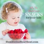 Kids and Food: The Snacking Rule