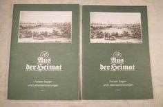 Aus der Heimat, Forster Sagen und Lebenserinnerungen, (Forst Lausitz) Teil 1+2