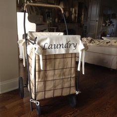 DIY+Granny+Shopping+Cart+Laundry+Hamper