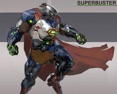 Stark Industries SuperBuster by Samuel Youn