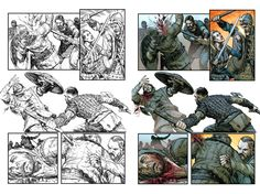 Vikings 3 -Color-preview  PAG 03 by rofdsmxc.deviantart.com on @DeviantArt