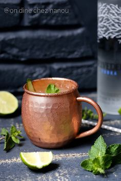 Moscow mule et ginger beer