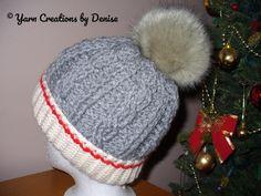 Folded Brim Monkey Sock Crochet Braided Hat | Craftsy