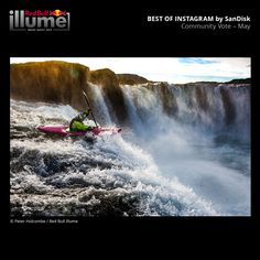 © Peter Holcombe / Red Bull Illume Red Bull, Niagara Falls, Community, Nature, Travel, Image, Instagram, Naturaleza, Viajes