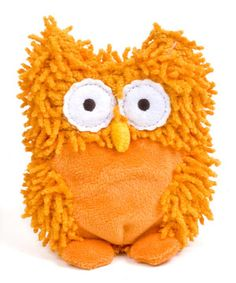 Look what I found on #zulily! Orange Owl Coin Purse by North American Bear Co. #zulilyfinds