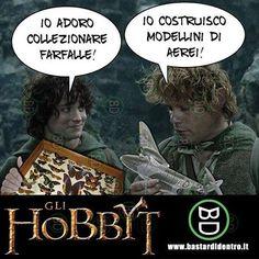 Dura passare il tempo nella Terra di Mezzo! Seguici su youtube/bastardidentro #bastardidentro #hobbit #frodobaggins www.bastardidentro.it