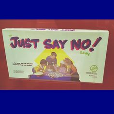 Game of the Week: Just Say No! The Just Say No Game was produced in Walnut Creek, California to support the campaign led by First Lady Nancy Reagan. #games #boardgames #retrogames #gameoftheweek #nancyreagan #history #justsayno