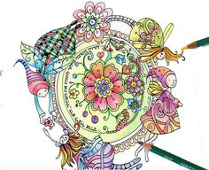 digital download mandala pattern diy print at by YonatKatzir