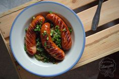 Kuchnia Bazylii: Kiełbaski w piwie