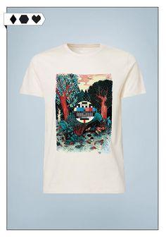 ThokkThokk x Yackfou Print Shirt for men –available for women, too! More on sloris.de