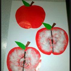 Apple craft idea for kids