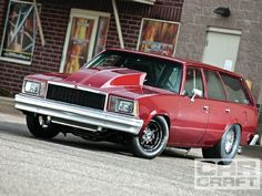 Id drive the shit out of this thing.. 1978 Chevy Malibu Station Wagon