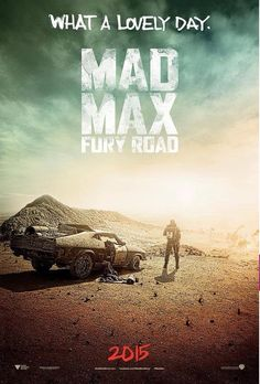 Mad Road Fury Road poster Comic Con 2014